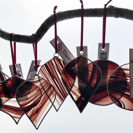 Hanging Glass Decoration