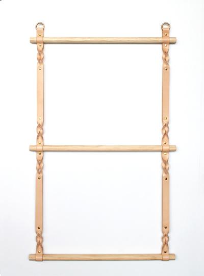 Hanging Leather Ladder