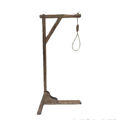Hangmans Gallows & Noose