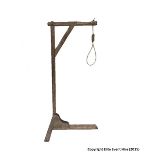 hangmans,hangman,noose,horror,halloween,prop,hanging,medieval,hire