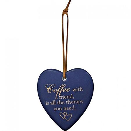 HANING HEART NAVY COFFEE