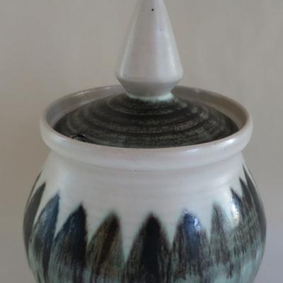 Pointy lidded sugar bowl