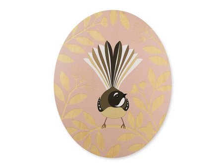 Hansby Design Fantail Pink Wall Panel