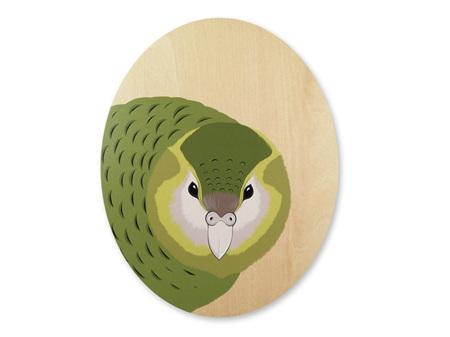 Hansby Design Kakapo Natural Wood Wall Panel
