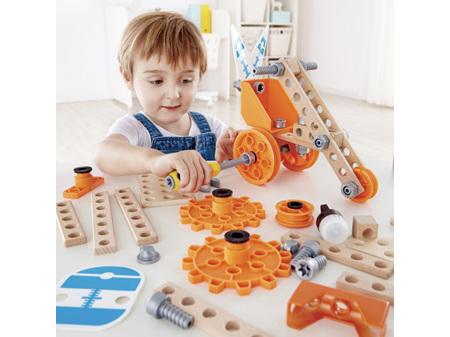 Hape Junior Inventor Deluxe Experiment Kit 57 Pieces