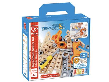 Hape Junior Inventor Experiment Starter Kit 42 Pieces