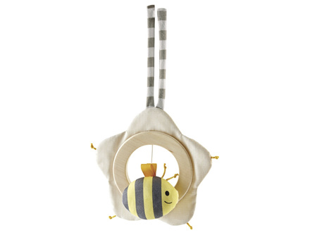 Hape Music Box Music Bee in the Heart of a Flower
