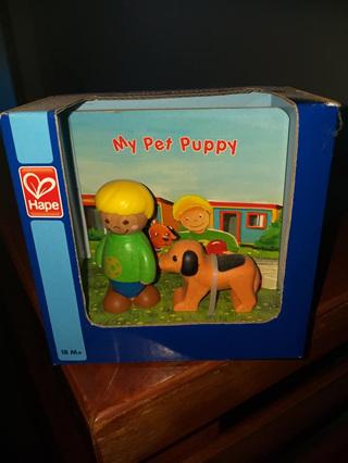 HAPE WOODEN TOY - My Pet Puppy