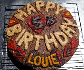 Happy 5th Birthday Louie cake