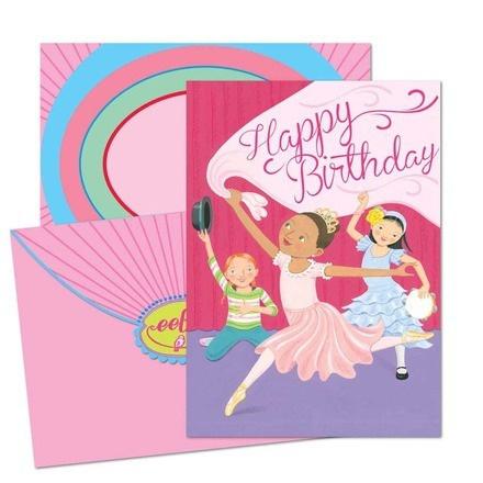 Happy Birthday dancing girls