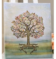 Happy Birthday Signing tree - Canvas