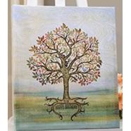 Happy Birthday Signing tree - Canvas