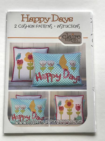 Happy Days Cushion Patterns
