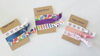 Happy Easter Hair Ties Pack