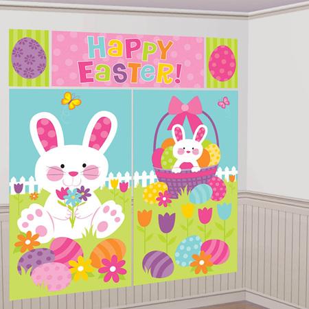 Happy Easter scene setter