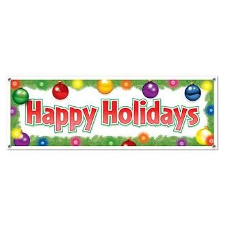 Happy Holidays - Banner