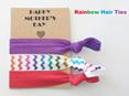 Happy Mother's Day Hair Ties (pack of 3 ties)