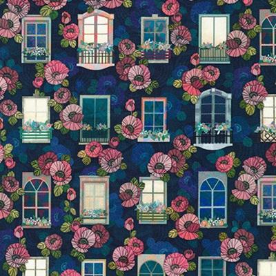 Happy Place Night Windows 19455-438