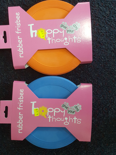 Happy Thoughts Rubber Frisbee