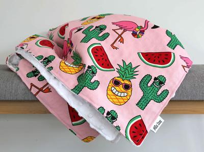 Happy Tropicana Blanket