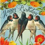 Happy Tweet Tweet Birthday card