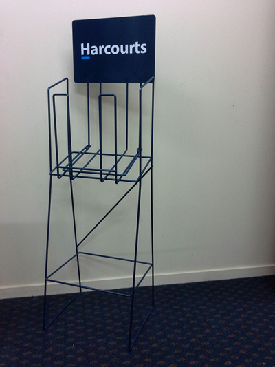 HARCOURTS A4 STANDARD LANDSCAPE STAND