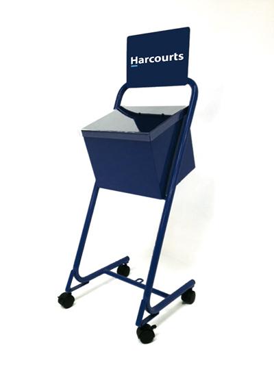HARCOURTS A4 WEATHERPROOF STAND