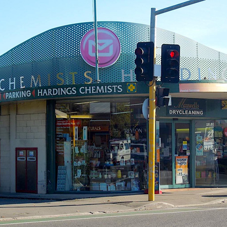 Hardings Chemist and Post