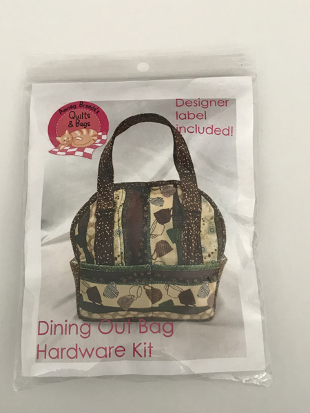 Hardware for Dining Out from Among Brenda's Quilts & Bags