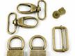 Hardware for The Double Flip Shoulder Bag from Emmaline Bags