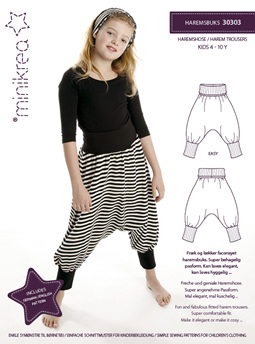 Harem pants size 4-10 years