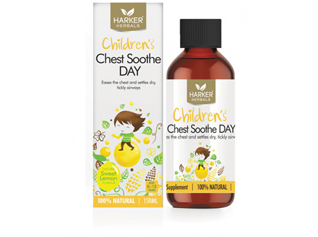 HARKER CHILD CHEST SOOTHE DAY 150ML