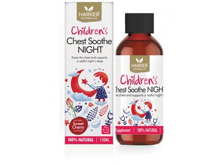 HARKER CHILD CHEST SOOTHE NIGHT 150ML