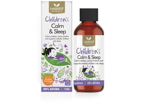 HARKER CHILDREN'S CALM & SLEEP 150ML EXP:10/21