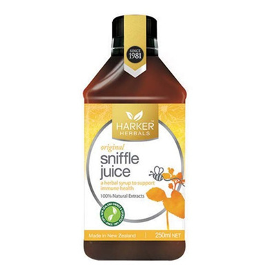 Harker Herbal Sniffle Juice 250ml