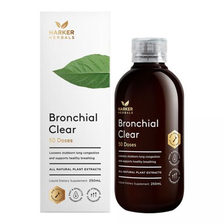 Harker Herbals Be Well Range -  Bronchial Clear 250ml