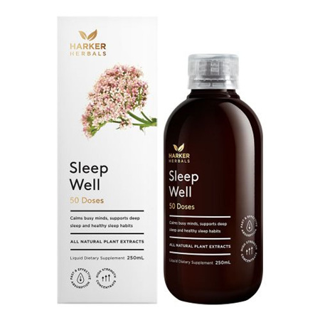 Harker Herbals Be Well Range -  Sleep Well 250ml