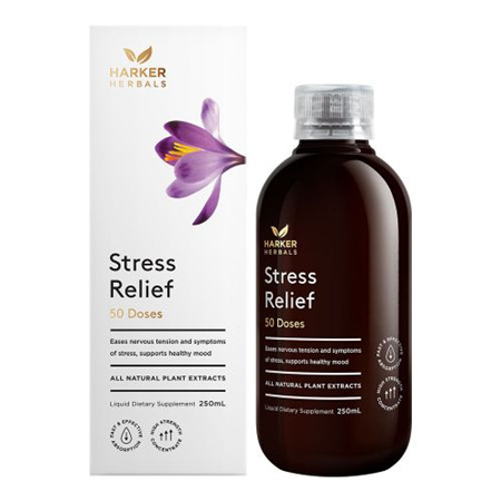 Harker Herbals Be Well Range -  Stress Relief 250ml