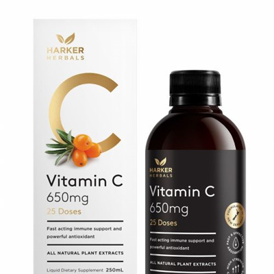 Harker Herbals Be Well Range -  Vitamin C  250ml
