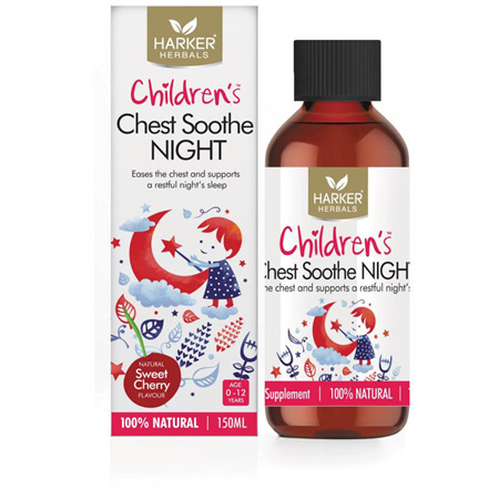 Harker Herbals Child Chest Soothe Night 150ml
