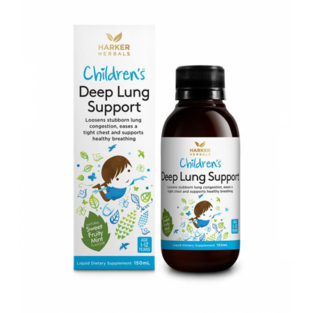 Harker Herbals Child Deep Lung Support 150ml