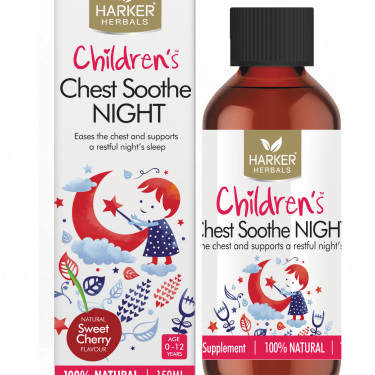 Harker Herbals Children's Range Chest Sooth NIGHT 150ml