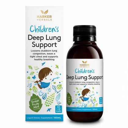 Harker Herbals Children's Range Deep Lung Support 150ml