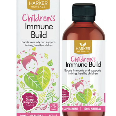 Harker Herbals Children's Range Immune Build 150ml