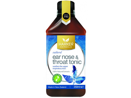 Harker Herbals Ear, Nose and Throat Tonic 250ml