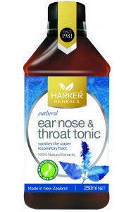 Harker Herbals Ear Nose  Throat Tonic  250ml