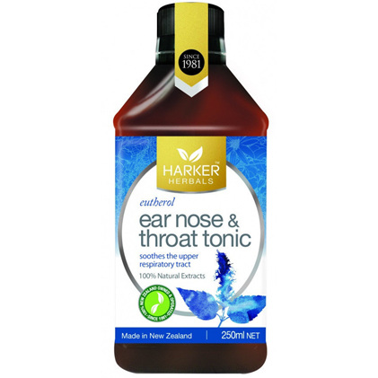 Harker Herbals Ear, Nose & Throat Tonic 250ml