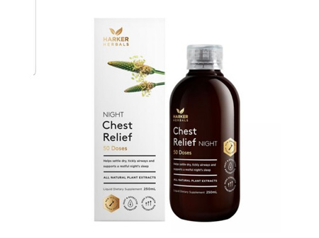 Harkers Chest Relief Night 250ml