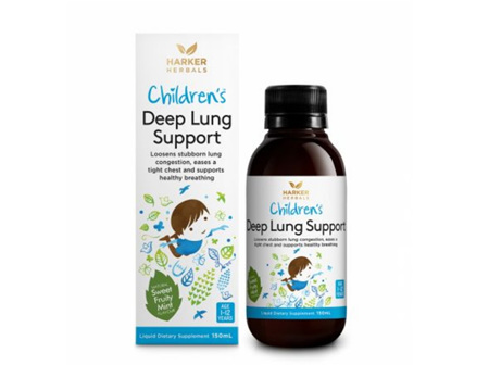 Harkers Child. Deep Lung Support 150ml