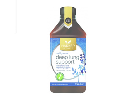 Harkers Deep Lung Support 250ml